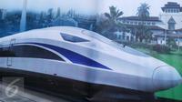 Dengan adanya kereta cepat kini Jakarta-Bandung ataupun sebaliknya cuma butuh waktu 35 menit, lalu berapakah harga tiketnya?