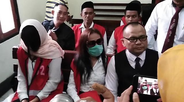 Sidang Perdana 2 Muncikari Prostitusi Online Artis (Liputan6.com/Dian Kurniawan)