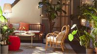 Ubah dekorasi teras agar tidak bosan di rumah selama pandemi, begini caranya./ Dok. Ikea