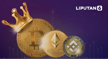 Ilustrasi mata uang kripto (Liputan6.com / Abdillah)