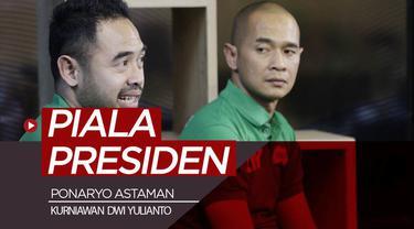 Berita video komentar Ponasryo Astaman dan Kurniawan Dwi Yulianto sebagai mantan pemain sepak bola Indonesia mengenai Piala Presiden 2019.
