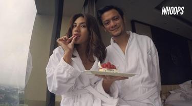 Eno Netral mengunggah foto-foto romantis bersama Nadila Ernesta sebagai tanda ulang tahun pernikahan yang ke-4