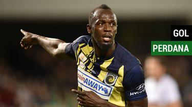 Berita video Juara 8 kali Olimpiade, Usain Bolt berhasil mencetak gol perdana di laga profesional sebagai pesepak bola saat melawan Macarthur South West United.