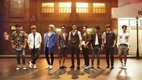 Usia rata-rata personel Super Junior adalah 33 tahun. Super Junior termasuk salah satu grup yang mempunyai jumlah penggemar yang sangat banyak. (Foto: Soompi.com)