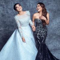 Ashanty dan Aurel Hermansyah. (dok. Instagram @aurelie.hermansyah/Asnida Riani)