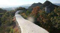 Tembok Besar China keindahannya rusak akibat renovasi (Foto:Reddit)