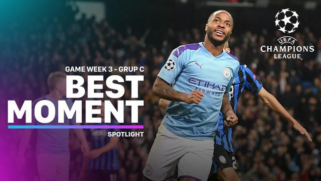 Berita Video Momen Terbaik Matchday 3 Liga Champions Grup C, Raheem Sterling Hattrick