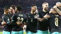 Timnas Austria lolos ke putaran final Piala Eropa 2020. (AP)