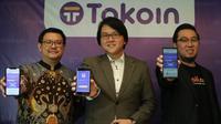 Hangzhuang Lim, CEO of Shuttle One , Reiner Rahardja, CEO of Tokoin Kanan, dan Iwan Suryadi, CTO of Ralali.com. Dok: Tokoin