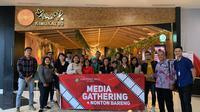 Hartono Mal Yogyakarta menggelar halal bihalal dengan rekan media di Yogyakarta lewat acara nonton bareng di CGV Cinemas (Liputan6.com/ Switzy Sabandar)