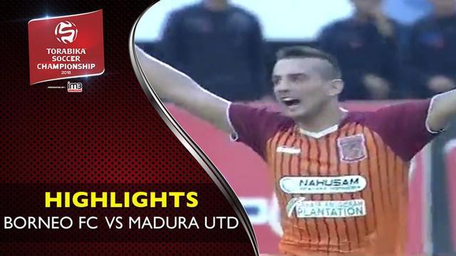 Video highlights TSC 2016 antara Pusamania Borneo FC vs Madura United yang berakhir dengan skor 1-1 di Stadion Segiri, Samarinda.