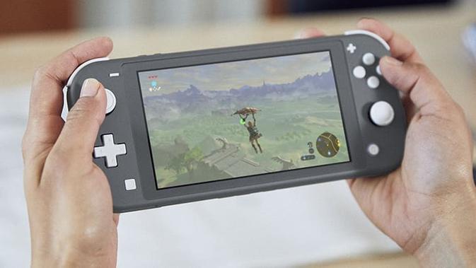 Tampilan Nintendo Switch Lite yang baru diperkenalkan (sumber: Nintendo)