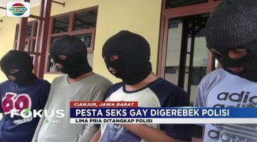 Mencengangkan! 1 dari 5 pelaku pesta seks gay di kawasan Cianjur, Jawa Barat, ternyata masih berstatus pelajar.