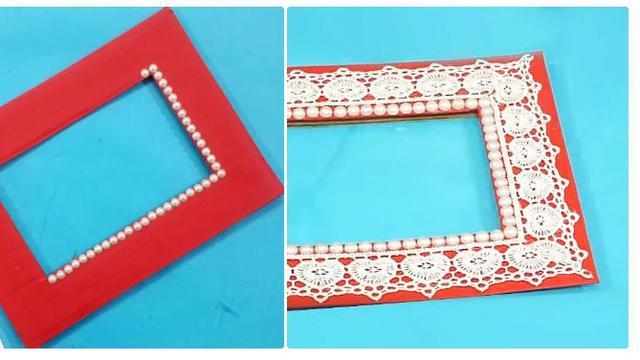Cara Membuat Bingkai Foto Dari Kardus Bekas Cocok Untuk Hadiah Hot Liputan6 Com