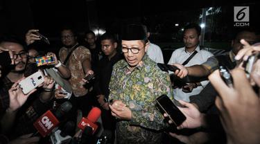 Menteri Agama Datangi Kantor Kemenag usai Disegel KPK