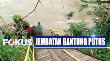 Dari informasi Tim Basarnas Bengkulu, total ada 27 orang yang menjadi korban jembatan gantung putus.