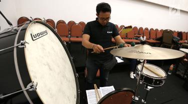 Mengintip Latihan The Resonanz Music Studio Jelang Konser Sabda Semesta