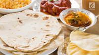 Coba buat sendiri roti panggang Chapati ala India untuk menu buka puasa di rumah. (Foto: iStockphoto)