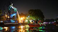 Potret Wisata Perahu Sungai Kalimas Surabaya (sumber: humassurabaya)