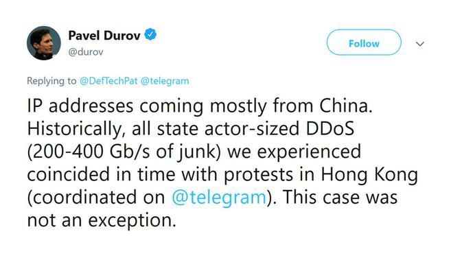 CEO Telegram Pavel Durov menuding Tiongkok di balik serangan DDoS kepada platformnya (Foto: Phone Arena)