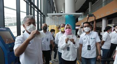 Beli Tiket Kapal Ferry ASDP Kini Bisa Melalui BRILink. (Dokuemntasi PT ASDP Indonesia Ferry). (Sabtu, 19/06/2021).