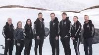 Tim Greenland tampil di Piala Sudirman 2019. (Twitter)