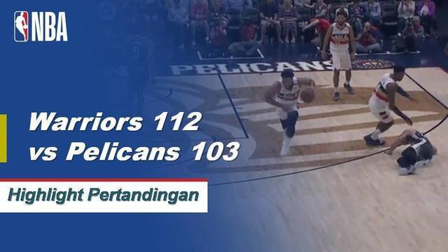 DeMarcus Cousins berakhir dengan 21 poin dan 12 rebound ketika Warriors menang beruntun keenam mereka.