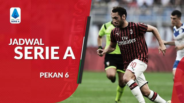 Berita video jadwal Serie A 2019-2020 pekan ke-6. Juventus hadapi SPAL, AC Milan ditantang Fiorentina.