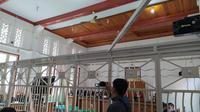 Sidang perdana Agung Sucipto, terdakwa penyuap Nurdin Abdullah (Liputan6.com/Fauzan).