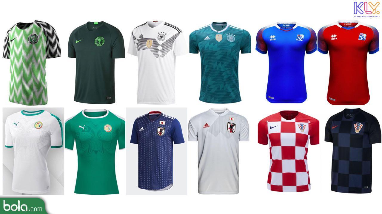 12 Jersey Terbaik Piala Dunia 2018 Timnas Nigeria Nomor