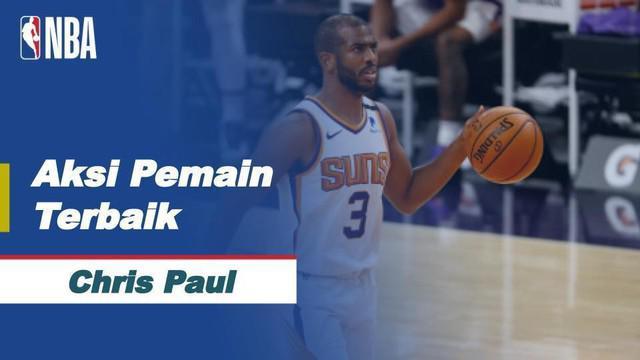 Berita video aksi-aksi mengesankan dari bintang Phoenix Suns, Chris Paul, yang menjadi pemain terbaik NBA hari ini, Rabu (5/5/2021) WIB.