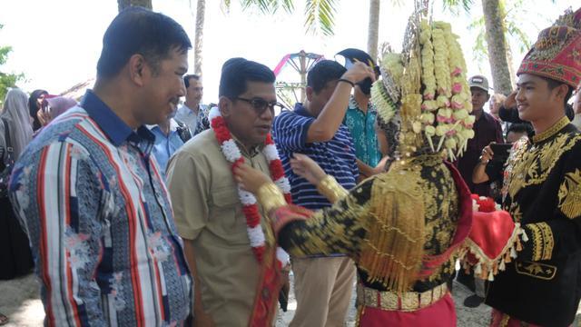MPR Gelorakan Empat Pilar di Pulau Panjang Aceh Singkil