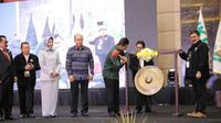 Direktur P2 Humas Direktorat Jenderal Pajak Hestu Yoga Saksama membuka kongres XI IKPI di Batu, Jawa Timur. (Dok. IKPI)
