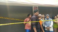 TKP pembunuhan satu keluarga di Bekasi (Liputan6.com/Ady Anugrahadi)