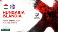 Kualifikasi Piala Eropa 2020 - Hungaria Vs Islandia (Bola.com/Adreanus Titus)