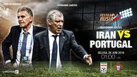 Prediksi Iran vs Portugal (Liputan6.com/Trie yas)