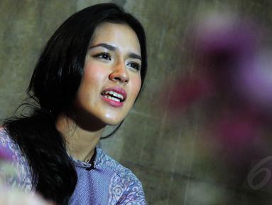 Jumat (18/7/14), Raisa mengadakan acara buka puasa bareng Your Raisa (sebutan bagi fans Raisa) di kawasan Kebayoran Baru, Jakarta. (Liputan6.com/Faisal R Syam)