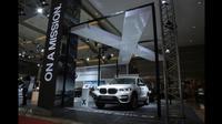 BMW X3 baru yang tampil di IIMS 2018 lalu