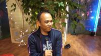 dr. Andi Kurniawan Sp. KO tidak hanya belajar teori, namun juga menjajal langsung olahraga lari maraton (Liputan6.com/Giovani Dio Prasasti)