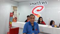 VP Technology Relations and Special Project Smartfren, Munir Syahda Prabowo. (Liputan6.com/ Agustin Setyo W)