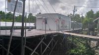 Keberadaan Pembangkit Listrik Tenaga Surya bisa mengurangi beban biaya hidup masyarakat di Dusun Siandau, Desa Liagu Kabupaten Bulung di Kaltara.(Liputan6.com/Achmad Dwi Afriyadi)