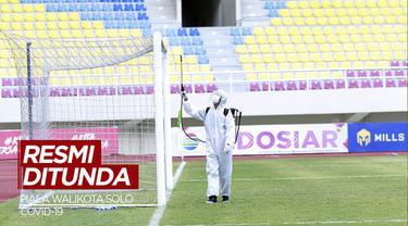 Berita Video Kasus Covid-19 Meningkat, Piala Wali Kota Solo 2021 Ditunda