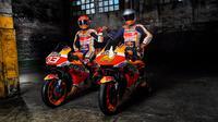 Pembalap anyar Repsol Honda, Pol Espargaro, berharap segera bisa menyesuaikan diri dengan motor RC213V yang akan digunakannya di MotoGP 2021. (dok. Repsol Honda)