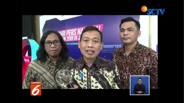 Tiga jurnalis Liputan 6 SCTV raih penghargaan Adinegoro lewat karya jurnalistik bertajuk 'Surga dari Rimba'.