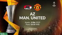Liga Europa - AZ Vs Manchester United (Bola.com/Adreanus Titus)