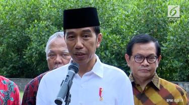 Presiden Jokowi mengapresiasi pengungkapan kasus penyelundupan sabu seberat 1,6 ton di perairan Anambas, Kepulauan Riau (Kepri)