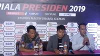 Persiapan pertandingan Grup D Piala Presiden 2019 di Stadion Maguwoharjo  (Switzy Sabandar)
