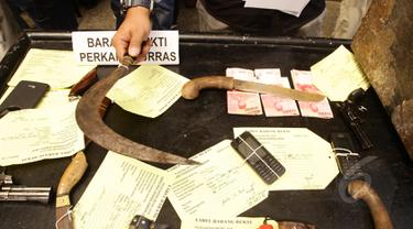 Komplotan Begal Truk Berhasil Dibekuk Polda Metro Jaya