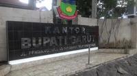 Kantor Bupati Garut di jalan Pembangunan Garut, Jawa Barat (Liputan6.com/Jayadi Supriadin)