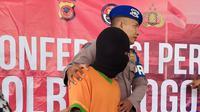 Pihak kepolisan telah menahan dan melakukan pemeriksaan atas dugaan pembunuhan dan pemerkosaan terhadap bocah siswa kelas 2 SD yang sempat hilang pada Sabtu, 29 Juni 2019. (Foto:Liputan6/Achmad Sudarno)